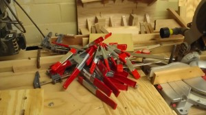 Pile 'O Clamps