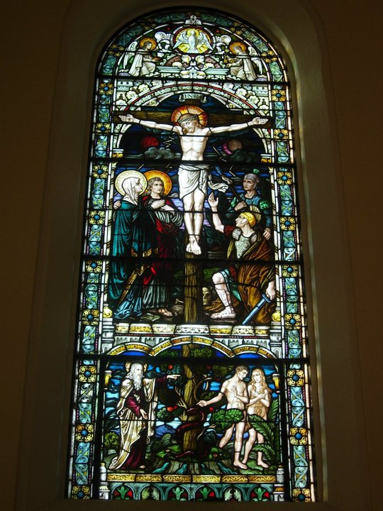 Crucifixion Window at St. Meinard Archabbey Church