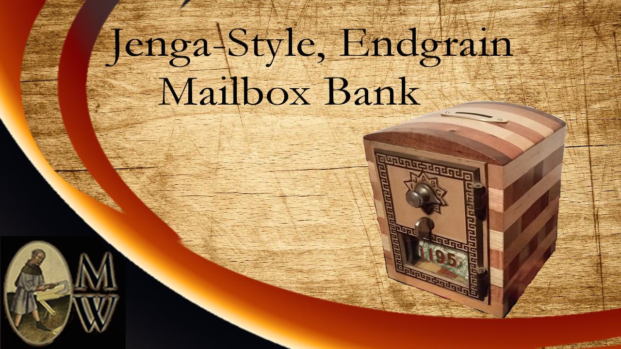 Jenga-Syle Mailbox Bank